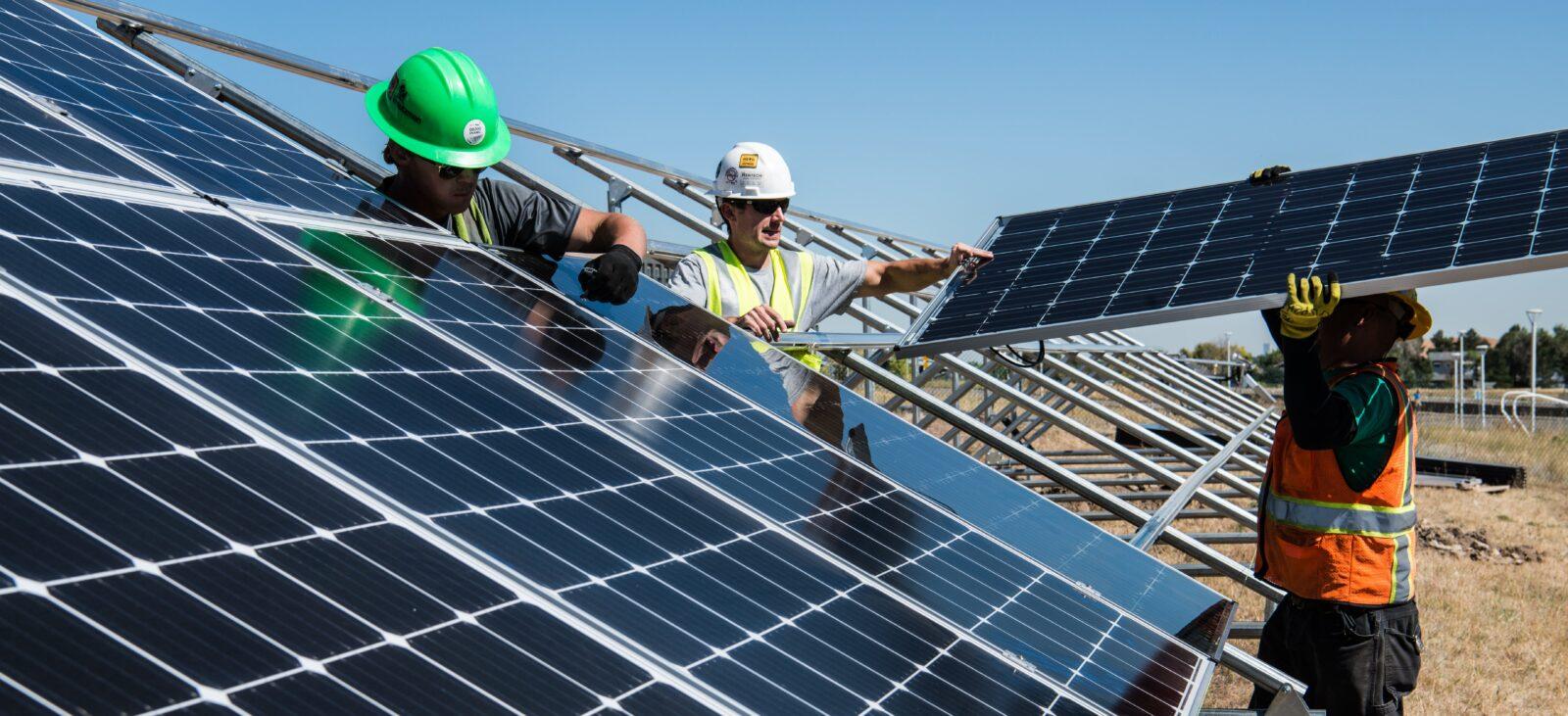 Solceller bra för miljön